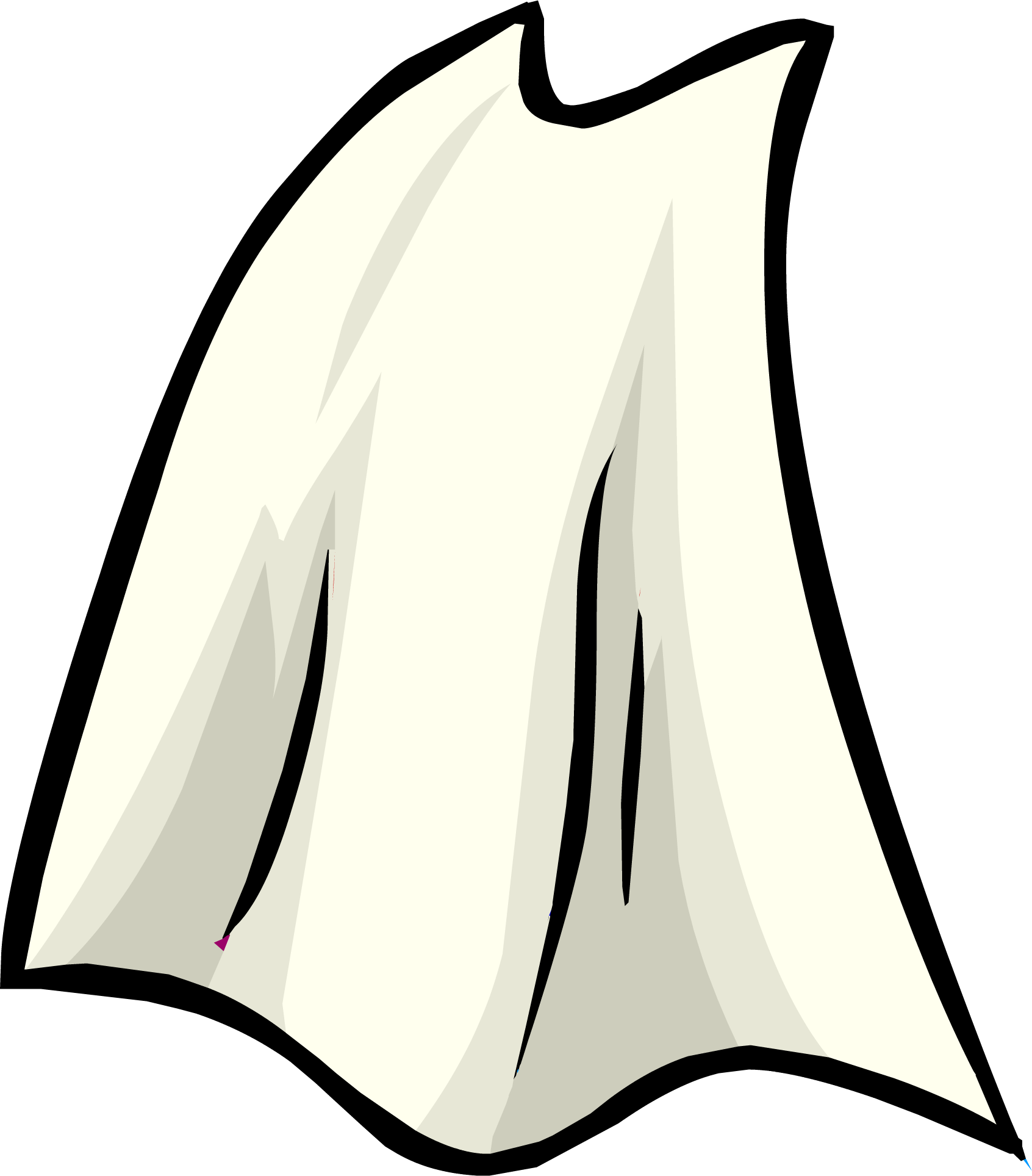 clip download Club penguin rewritten wiki. Cape black and white clipart