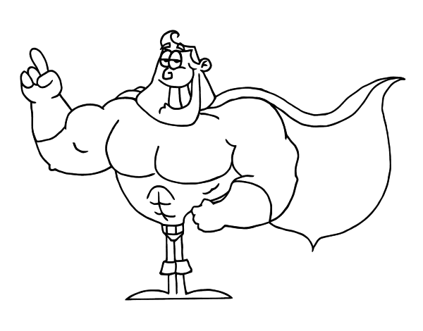 image freeuse library Cape black and white clipart. Superhero drawing at getdrawings