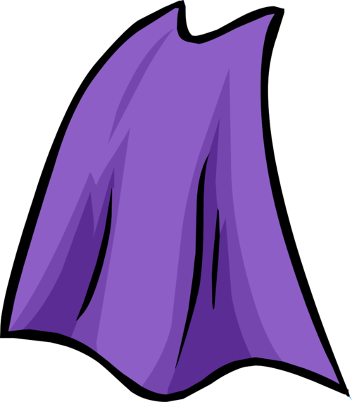 picture library download Club penguin superman cloak. Cape clipart