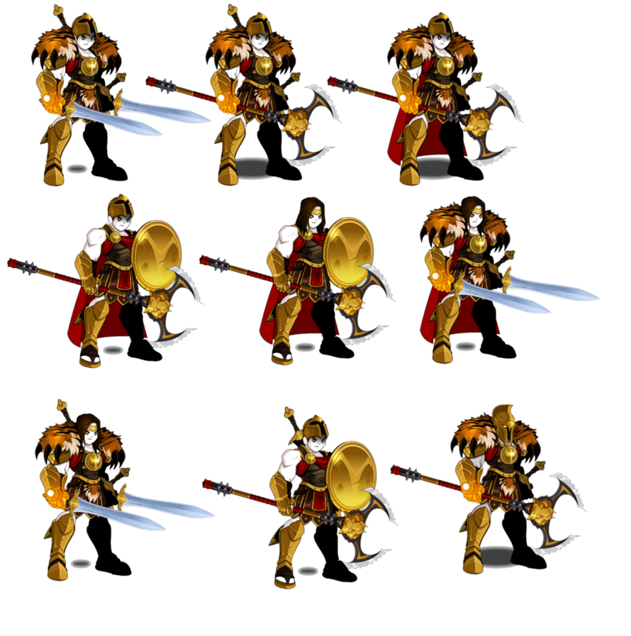 graphic royalty free download Firestrom guard combo set. Cape clipart aqw.