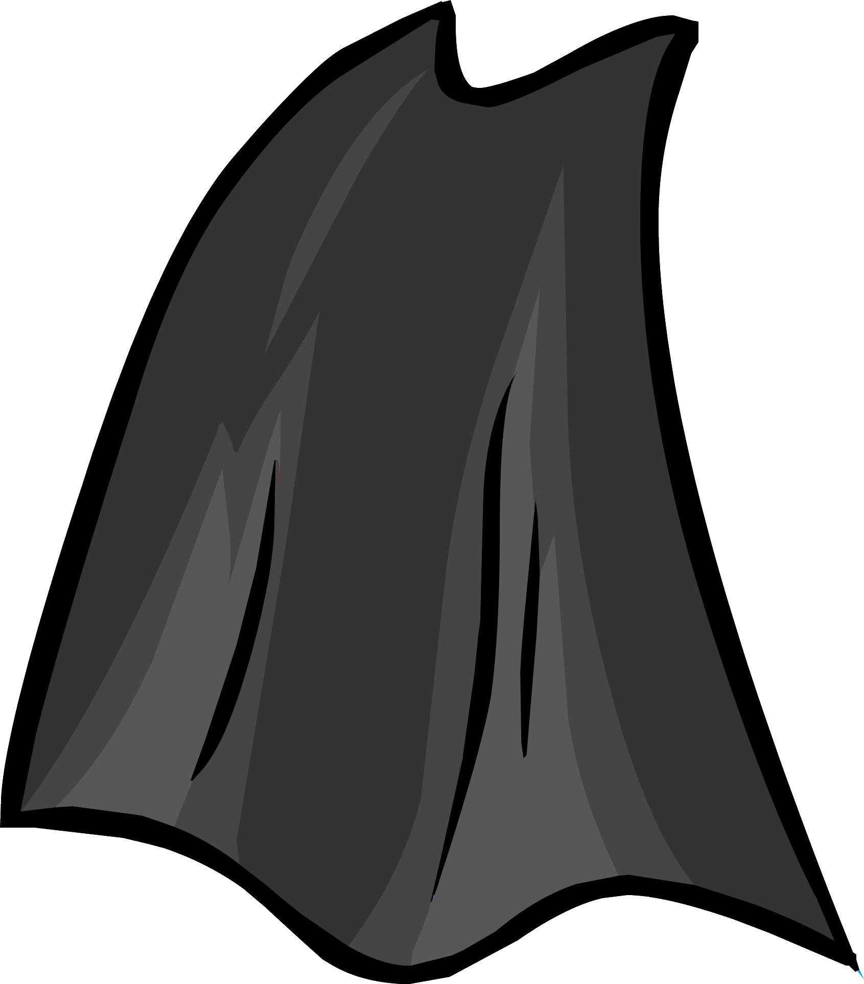 clip art library library Club penguin rewritten wiki. Superhero cape clipart black and white