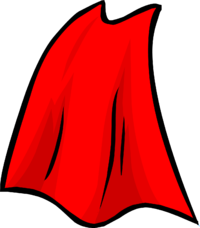 vector free library . Cape clipart flying cape.