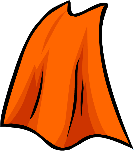 jpg royalty free library Cape clipart king cape. Orange club penguin wiki.