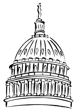 picture royalty free stock Us Capitol Drawing at GetDrawings
