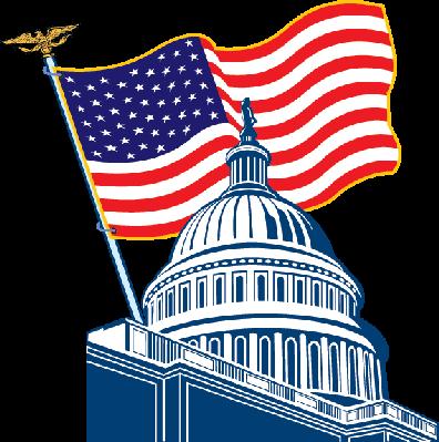 clip art freeuse download Capitol clipart. U s flag social