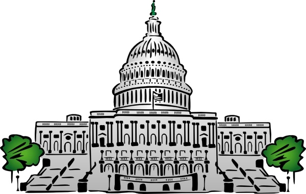 clipart freeuse Capitol clipart clip art. Us building style free