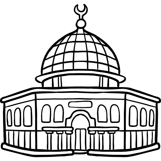 jpg royalty free library Dome the rock free. Capitol clipart fancy building