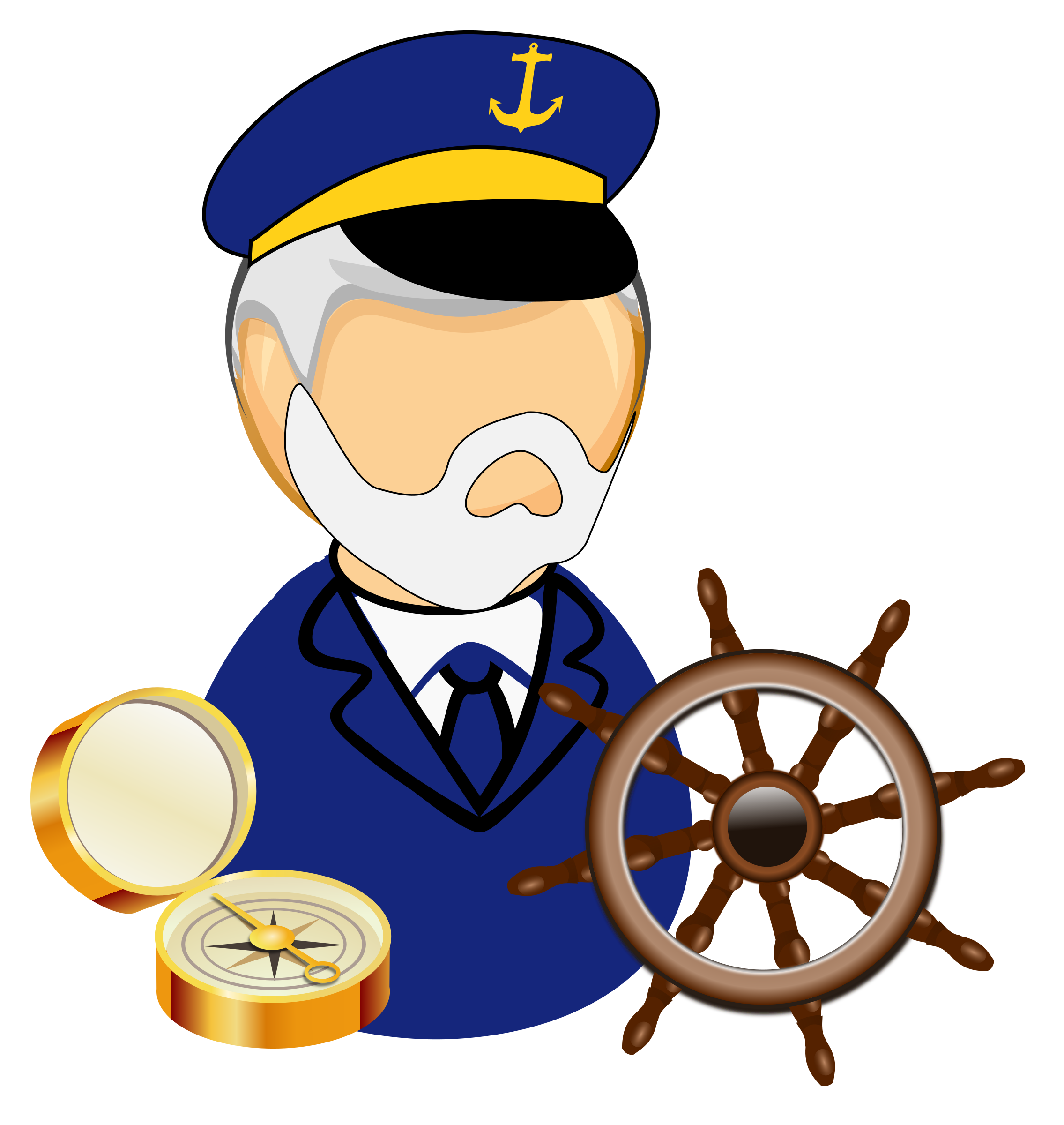 graphic royalty free Sea big image png. Captain clipart