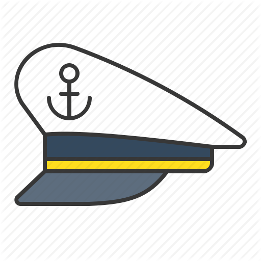 jpg library stock Icon hats cap sailor. Nautical clipart captain hat.