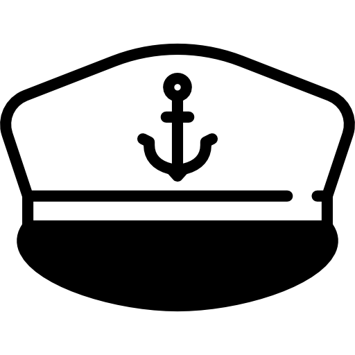jpg royalty free download Free fashion icons icon. Nautical clipart captain hat.