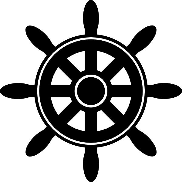 banner royalty free library Ships wheel clipart. Drawn ship anchor free.