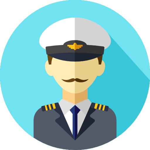 banner free Icon png svg . Captain clipart ship pilot.