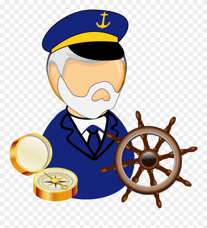 svg Airline of png . Captain clipart ship pilot.