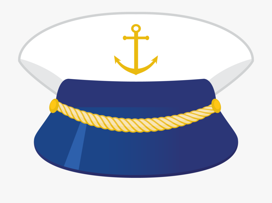 clipart free Captain clipart ship pilot. Hat nautical png .