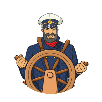 graphic free Hook chandlers llc your. Captain clipart ship pilot.