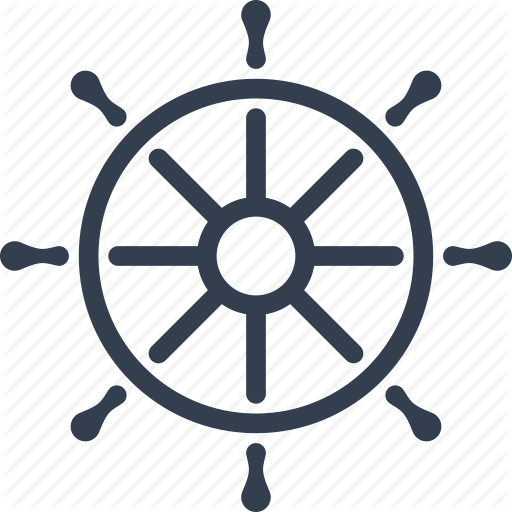 picture free stock Captains wheel clipart. Ship icon shared by