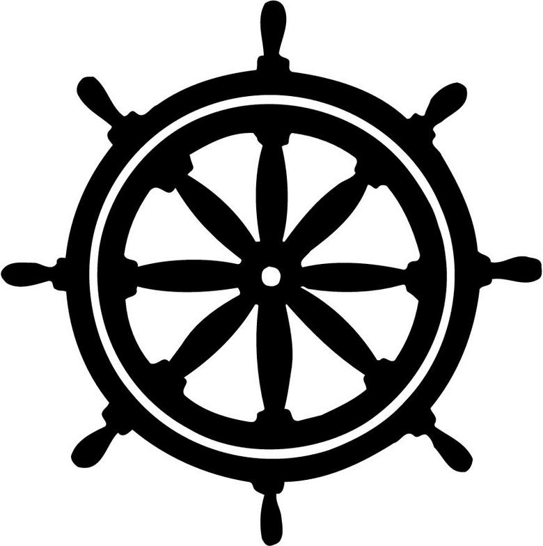 freeuse stock Captains wheel clipart. Free boat cliparts download