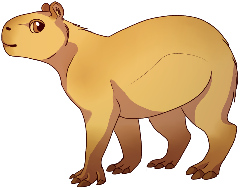 png royalty free library Capybara by SheepMaker on DeviantArt