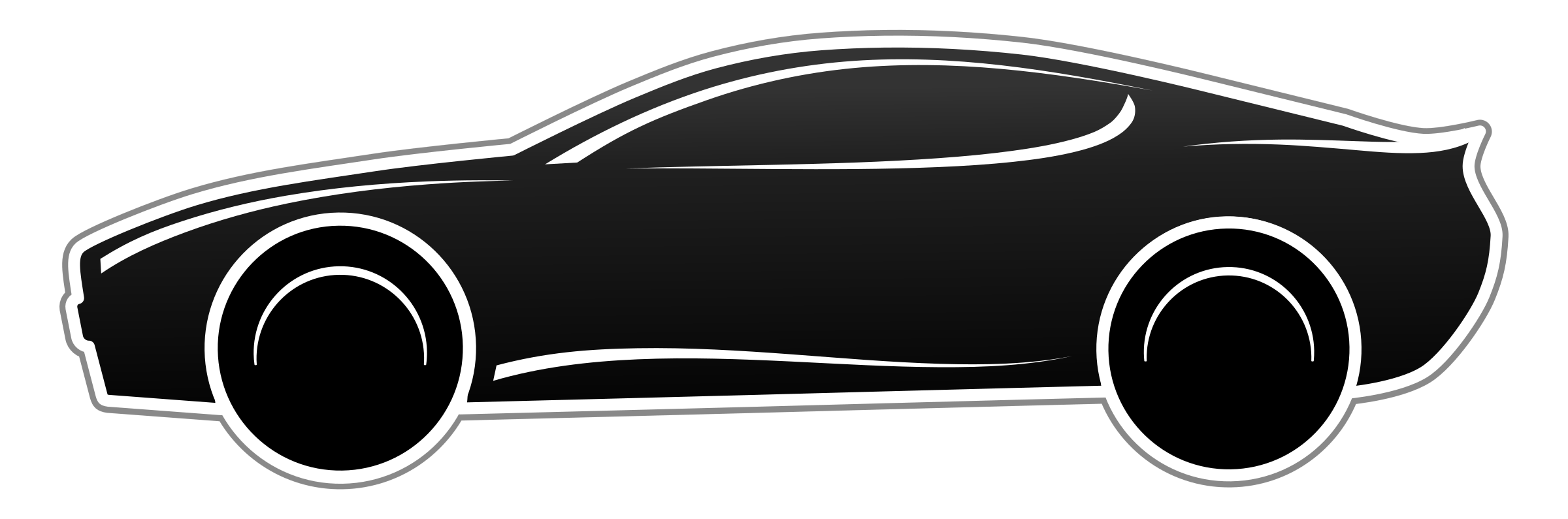 clipart Black and white sport clipart. Fast car png transparent