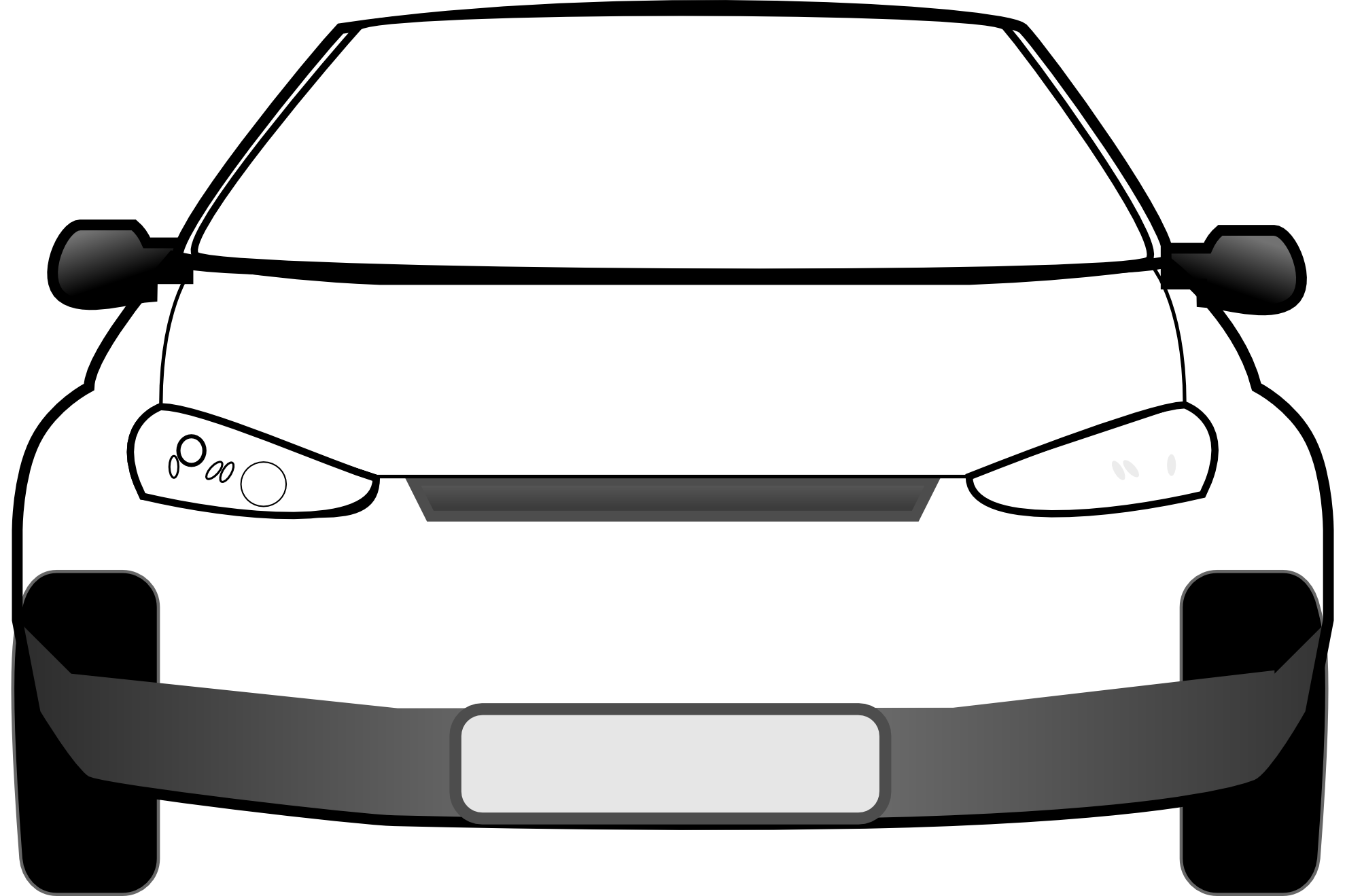 freeuse library Of . Car clipart front.