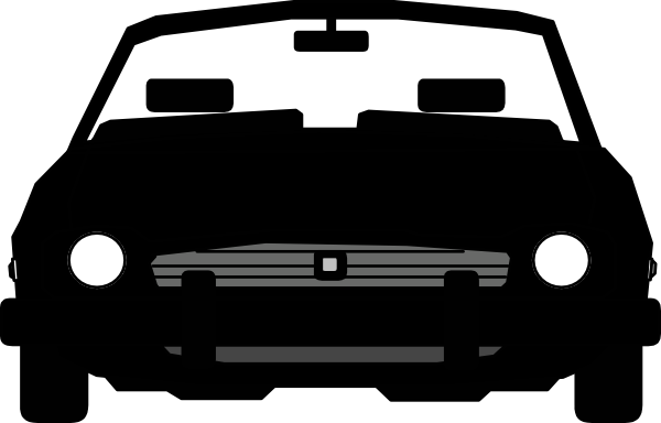 vector free download Car Front Clip Art at Clker