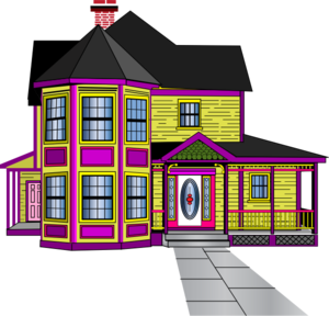 png black and white stock Aabbaart com final mini. Car clipart house.