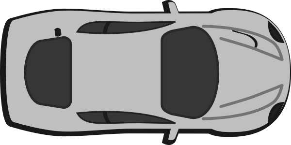 clipart transparent library Gray Car