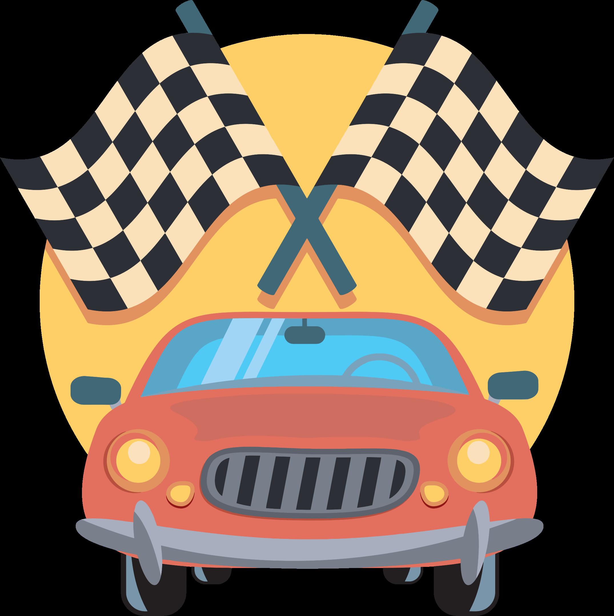 clip library car race clipart #60517766