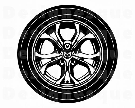 graphic library library Clipart wheel. Svg car tire files.