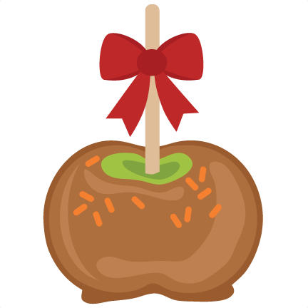 graphic download Caramel apple clipart