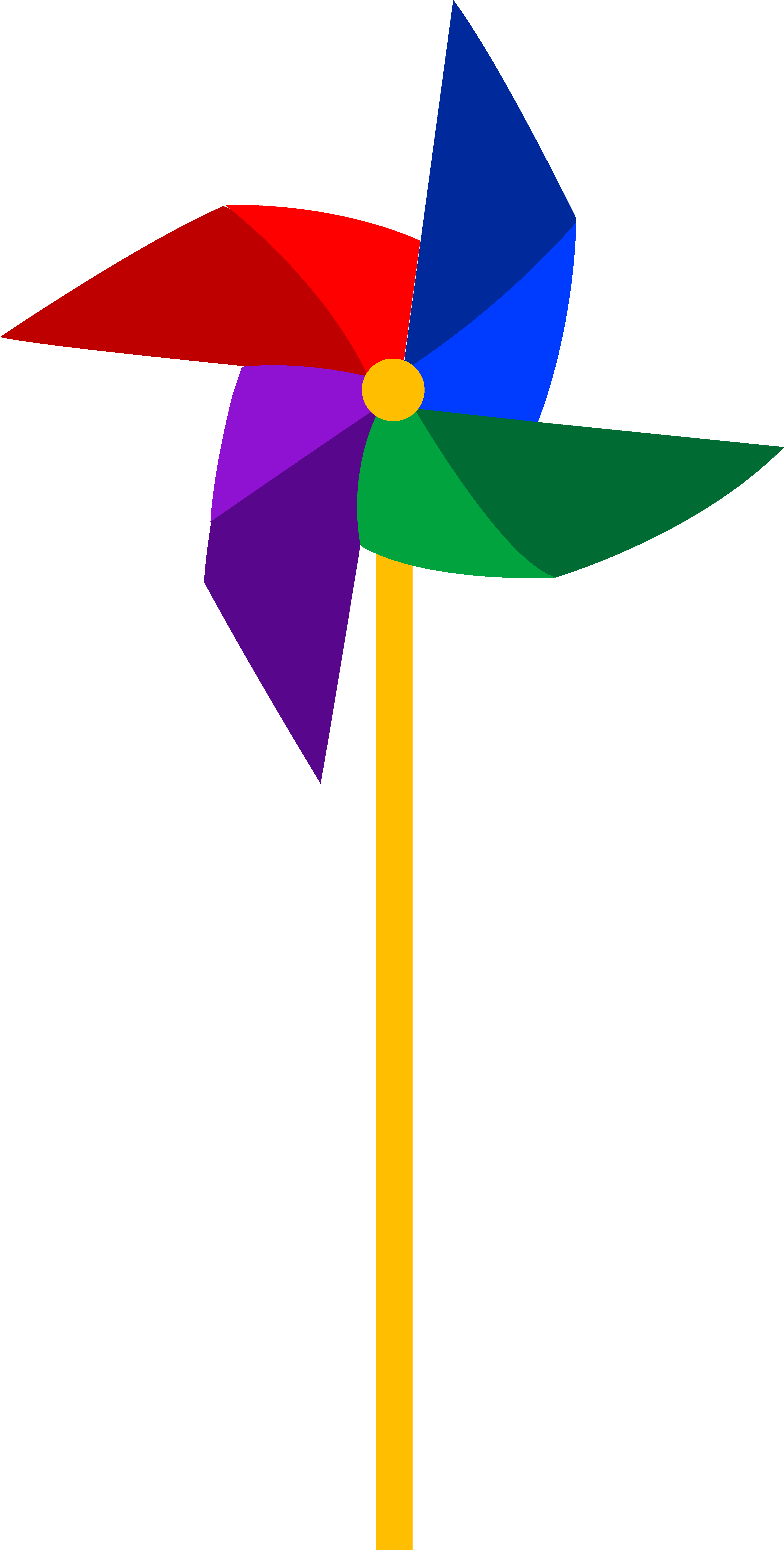 svg royalty free library Clip art of a colorful pinwheel toy