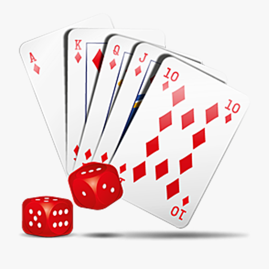 graphic free download Free casino cards and. Card clipart dice card.