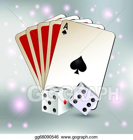 svg free stock Card clipart dice card. Vector stock playing and.