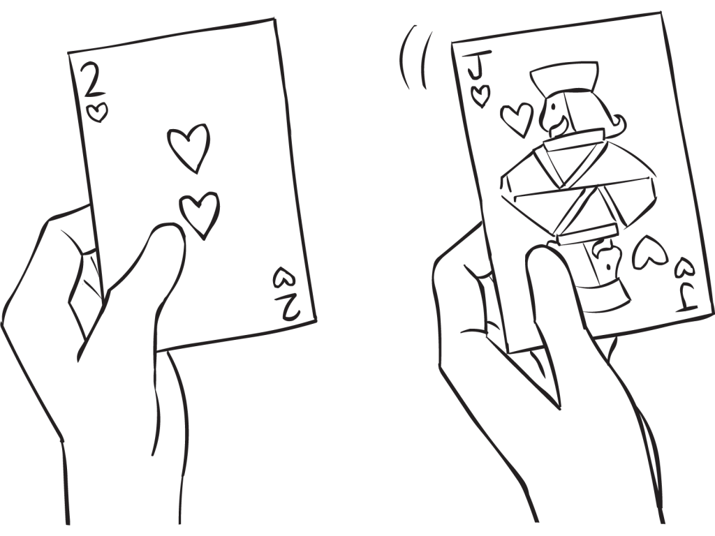 clip library stock Collection of free card. Drawing something hand holding