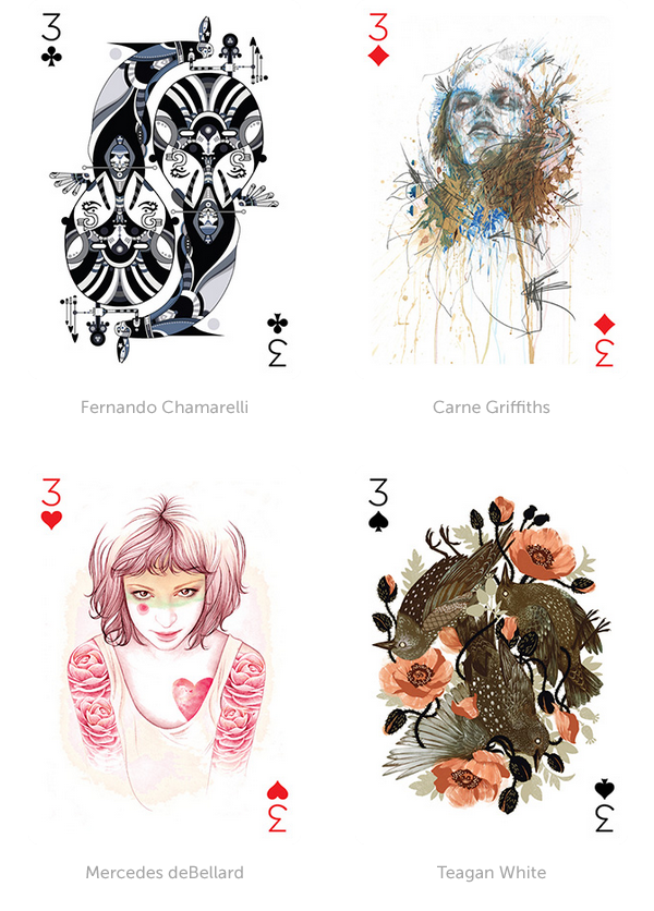 vector Illustrated Card Deck
