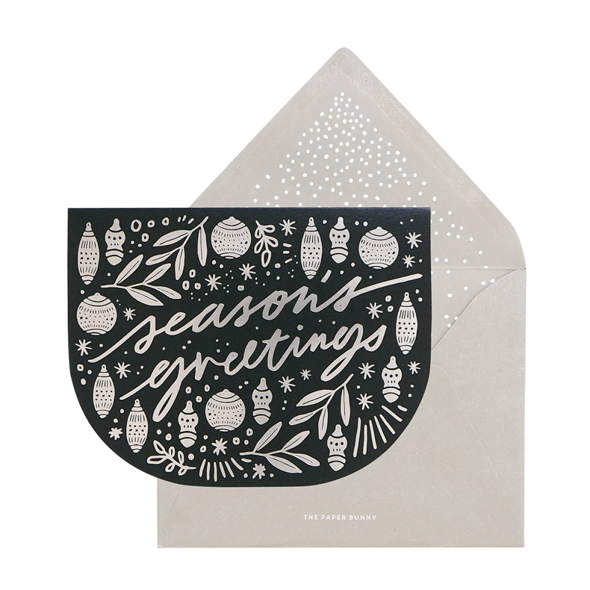 picture download Seasons Greetings Ornament Card