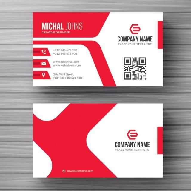 clipart transparent download Vector business busines. White card with red