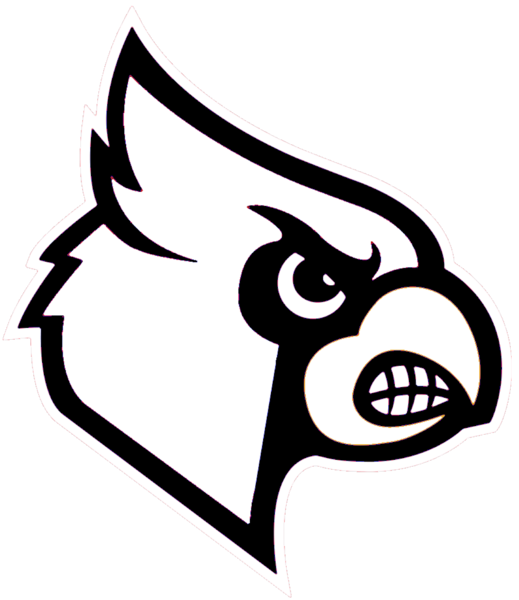 transparent stock Cardinal clipart black and white. Cardinals free images at.