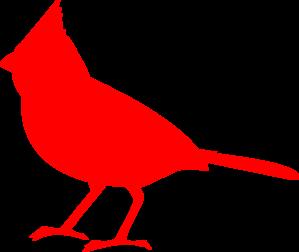 svg download Cardinal Silhouette clip art