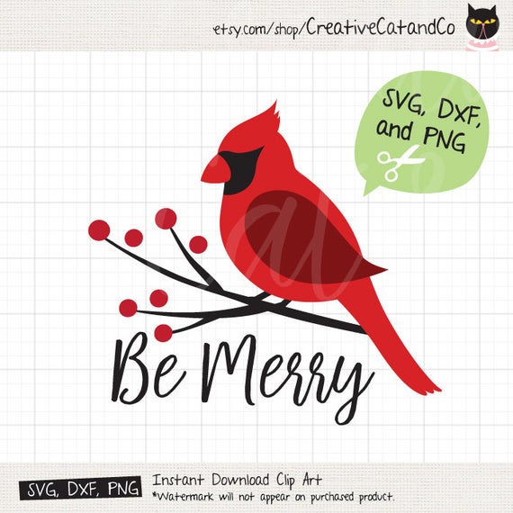 png library download Cardinal svg. Christmas dxf cuttable red.