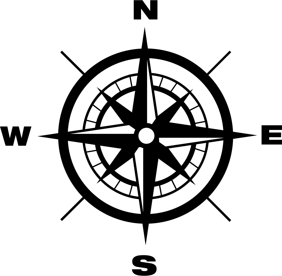 jpg freeuse stock Compass With Earth Cardinal Points Directions Svg Png Icon Free