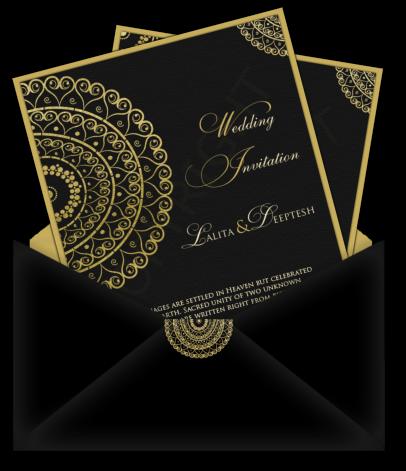 image free stock Indian Wedding Invitation Card Designs