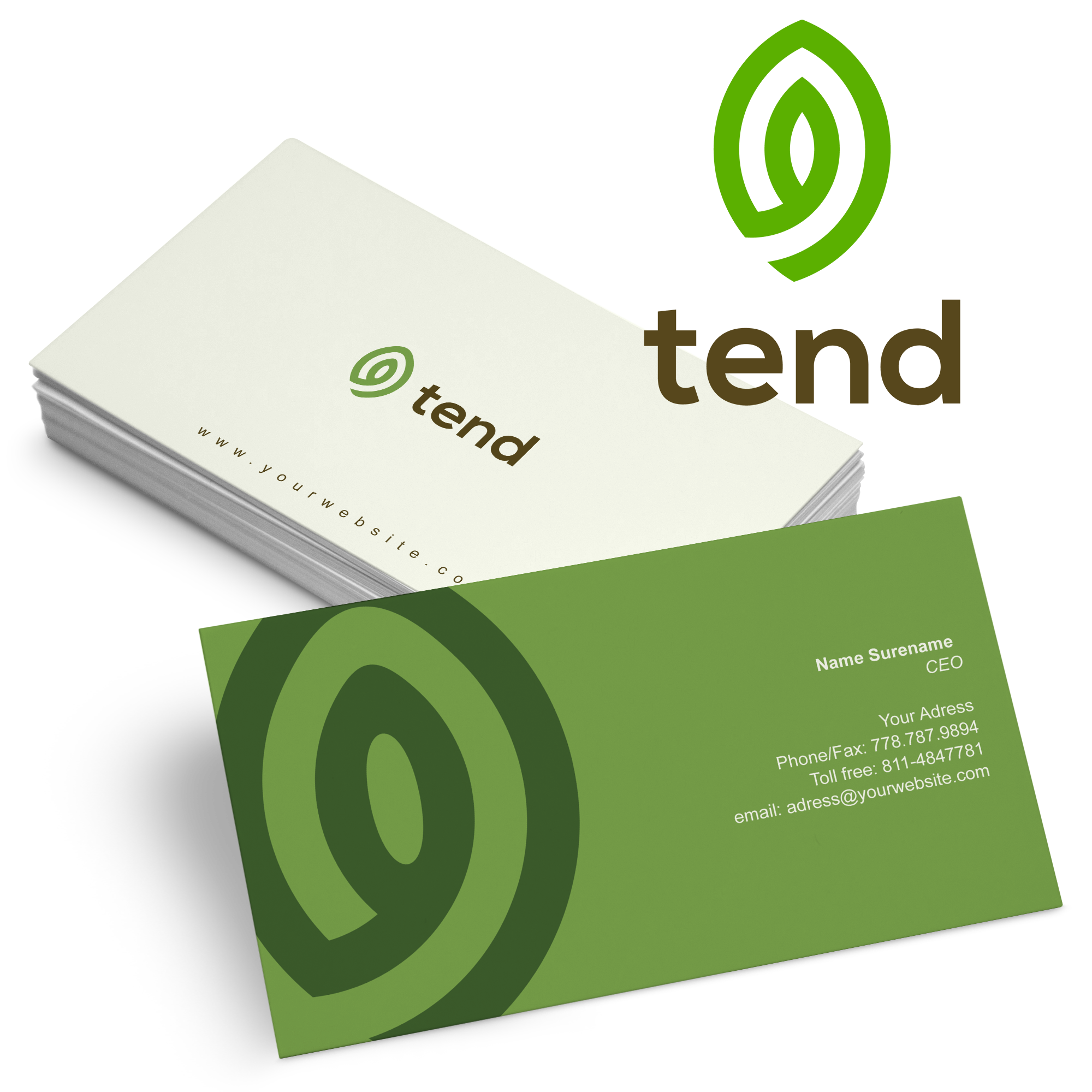 vector freeuse Business Card Logos