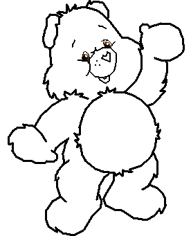 svg stock Care bear head png