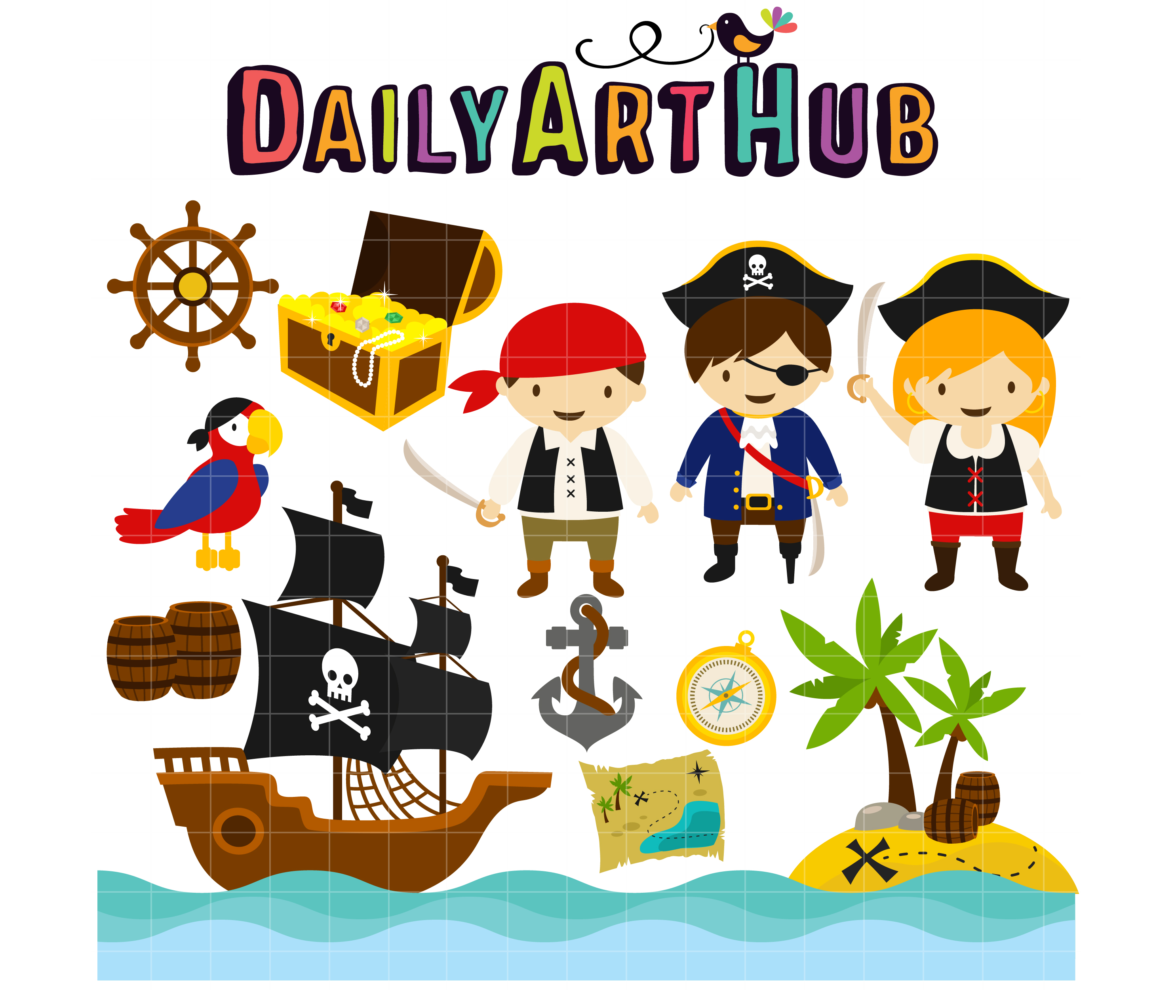 png free download Caribbean clip. Pirates in the art