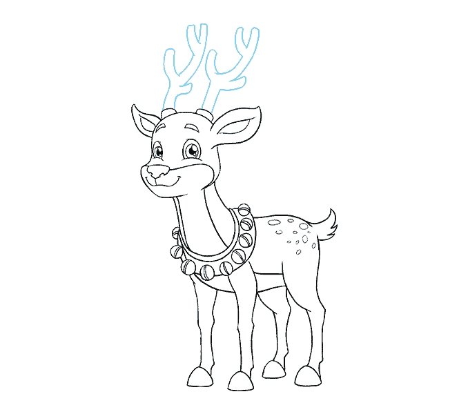 banner royalty free How to Draw a Reindeer in a Few Easy Steps