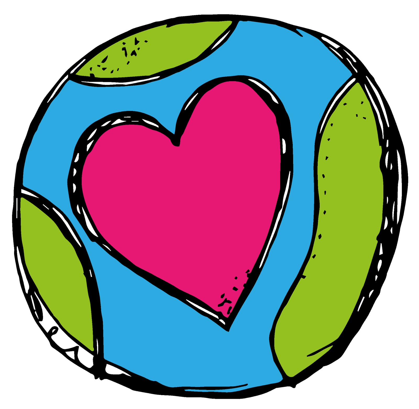 clipart Caring clipart. Earth day and a