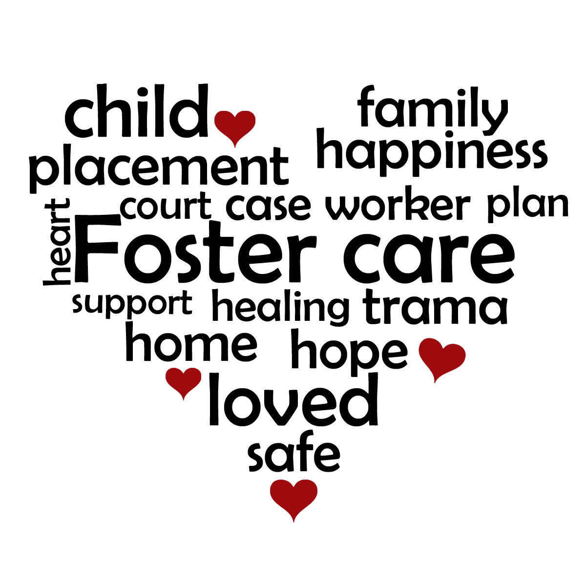 freeuse library Foster care transparent . Caring clipart adoption.