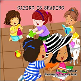 graphic freeuse library Is sharing stacy m. Caring clipart book.