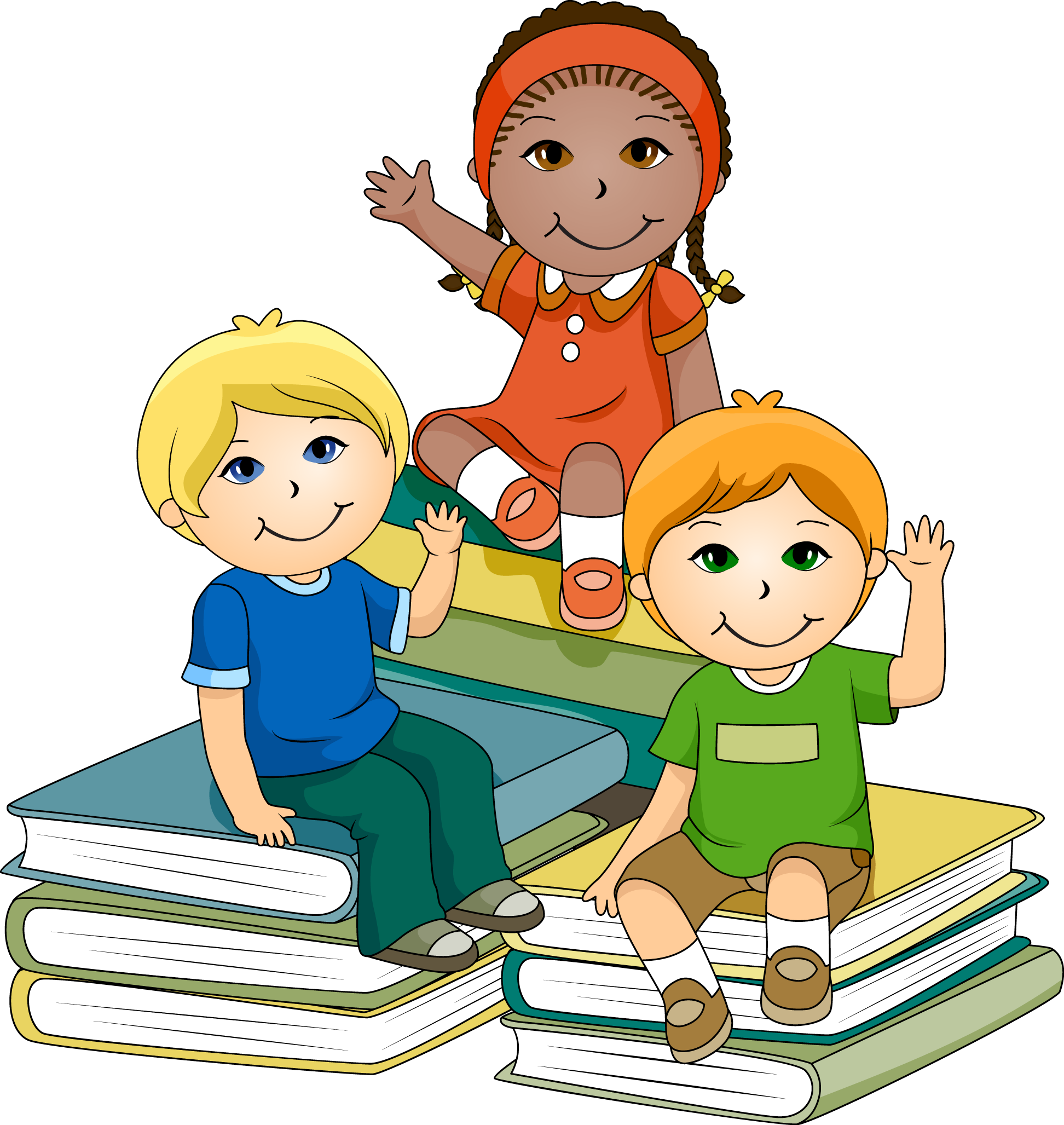 clip download Get creative with this. Kid studying clipart